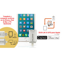 Memoria Usb Para Iphone, Ipad,mac Pny Duo Link S 64gb