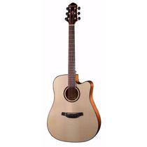 Guitarra Electroacustica Crafter Afinador Hde-500