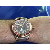 Relógio Masculino Everlast Mergulho 100 Mts - Original