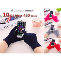 Lote De 10 Iglove Guantes Touch Para Telefonos Y Tablets