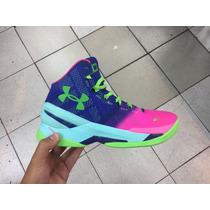 Zapatos Botas Stephen Curry Two 2 Para Damas Y Caballeros