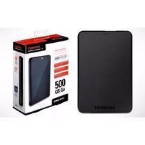 Disco Rígido Externo Portatil Toshiba 500gb Usb 3.0
