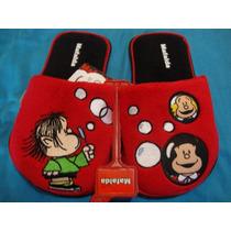 #22-26 Pantuflas De Mafalda Quino Originales Nuevas Cynld