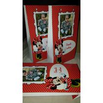 50 Sacolinha Surpresa Minnie Ou Baby Disney Lembrancinha