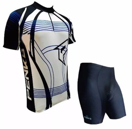 7a169517b Roupa Conjunto Penks Maximo Bike Az Camisa + Bermuda Preta - R  143 ...