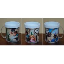 Lote 10 Tazas Enredados Plasticas Personalizadas