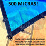 Super Lona 500 Micra 13,5x7 Polietileno Plástica Impermeável