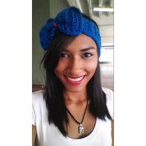 Cinta Cintillo Banda Tejido Crochet Dama Y Niñas Diadema