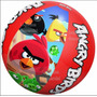 Pelota Inflable 51cm Angry Birds Piscina Playa Niños Vacacio