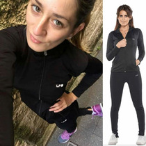 Conjunto Fitness: Campera + Calza - Fitness Point Mujer