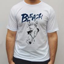 Blusa Anime Camiseta Anime Bleach Ichigo Camisa Blusa Regata