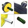Roda De Abdominal Estabilizadora Ab Wheel Musculação