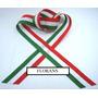 Cinta Bandera Italiana N*3 De 15mm X 30 Rollos De 10 Mts C/u
