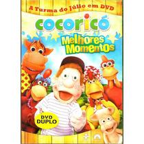 Dvd - Box Cocoricó - Melhores Momentos1 - 02 Dvds - Lacrado