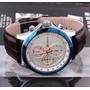 Reloj Curren Original Correa De Cuero Envios Todo Peru 8138