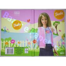 Caderno Capa Dura Brochura Barbie 96 Fls Modelo 3