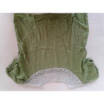 Blusa Verde Con Tejido Croyet