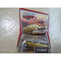 Disney Cars Tex Dono Da Equipe Dinoco Mattel Mcqueen