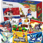 New 3ds + 16 Jogos Originais Pokemon X Y Alpha Omega Mario