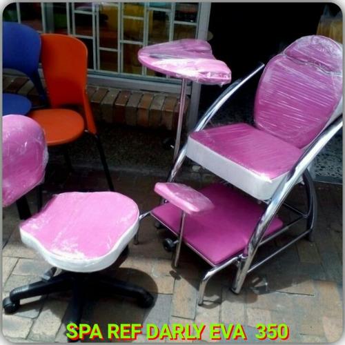 Muebles peluqueria spa de u as manicure y pedicure 350 for Sillas para hacer pedicure