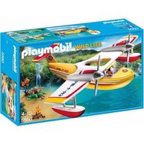 Retromex Playmobil 5560 Hidroavion Aventura Vida Salvaje