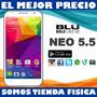 Telefono Blu Neo Pantalla 5.5 Android 5 Mp Wathsapp N030