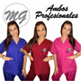 Ambos Medicos Uniformes Veterinarios Farmacia Mg