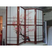 Biombo Oriental Chines Decoração Divisoria Grande
