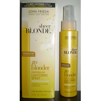 John Frieda Spray Clareador Sheer Blonde Go Blonder