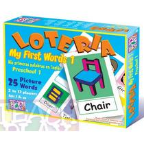 25054 Lotería Básica Inglés Preescolar 25 Words Teach Play