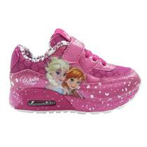 Zapatillas Addnice Originales Frozen Air Luces Disney Oferta