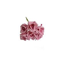 Rosas Artificiais - 24 Flores - Flor Artificial Eva - Rosa