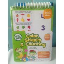 Leap Frog Libro De Actividades Borrable En Ingles Colores