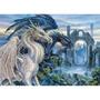 Rompecabezas Ravensburger 1000 Piezas - Dragones Misticos