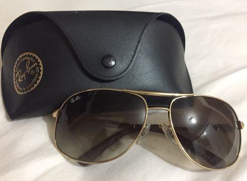 7e4efe22e9303 Oculos Rayban Top Rb3387 Impecável Oculos De Sol Aviador - R  421,90 em  Mercado Livre