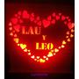 Regalo San Valentin Veladores Personalizados Dia Enamorados