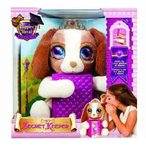My Secret Keeper Perrito Intek Princesas Nenas Mascota De Tv