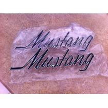Par Emblemas Laterales Mustang 69 70 71 72 73 Ford Vistas