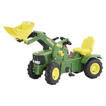 John Deere Aire Neumático Agrícola Tractor Con Cargador