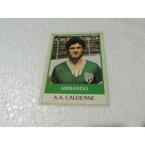 Card Original Armando Nº 504 A A Caldense Futebol Ping Pong