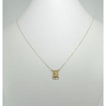 Escapulário Masculino Corrente Cartier 65 Cm Ouro 18k 750