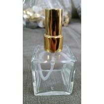 Frasco Vidro-cubo 30ml Com Valvula Spray Luxo-kit Com 10pç