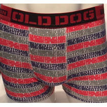 Cueca Estampa Olddog Fabrica 100% Cotton 40 Elast Kit C 12
