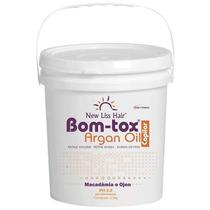 Selagem Bom-tox Capilar 3,5kg New Lis Repõe Massa Sem Formol