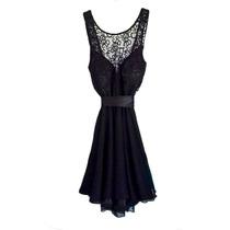 Vestido Delfina, De Fiesta, Gasa, Brishka M-0067