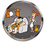 Relogio De Parede Vilma E Fred Flintstones