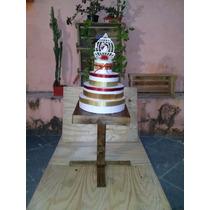 Mesa Bolo De Casamento,mesa De Enfeites,mesa Rustica,barato