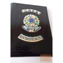 Porta Cédulas Cnh Funcional Crea Técnico Eletrotécnico C04p