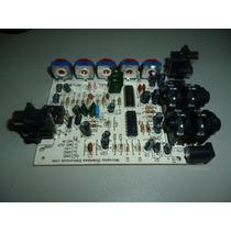 Pré Amp. De Microfone, Processador De Eco Reverberação Mix.