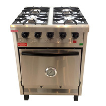 Cocina Semi Industrial 4hornallas Rovesco Envío Gratis Caba